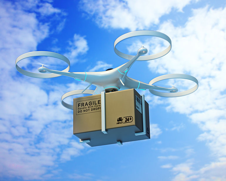 Drones Take Flight at CES 2020