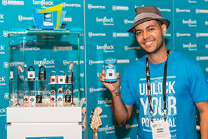 BenjiLock Founder Robbie Cabral at CES 2019