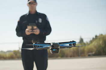 Skydio Drone Used By First Responders