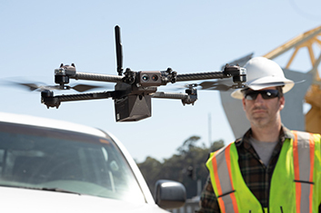 Skydio Drone Used by Industrial Inspectors
