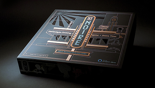 St. Noire - an Alexa Hosted Cinematic Board Game