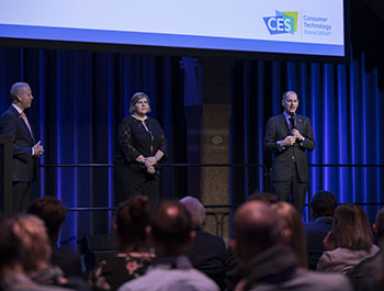 CTA's Gary Shapiro, Karen Chupka and Steve Koenig present CES 2019 Preview & Trends in Technology at CES Unveiled Amsterdam