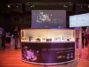 31 tech companies from the Netherlands and surrounding region were announced as CES 2019 Innovation Honorees at CES Unveiled Amsterdam