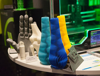 3D printing advancements on display at CES Unveiled Paris