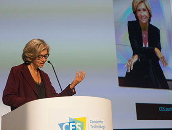 Valérie Pécresse, President of the Paris Region, opens CES Unveiled Paris