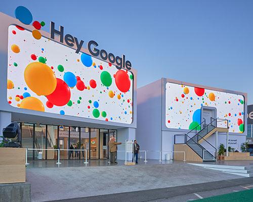 Google exhibit space