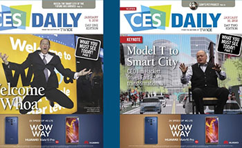 CES Daily Covers