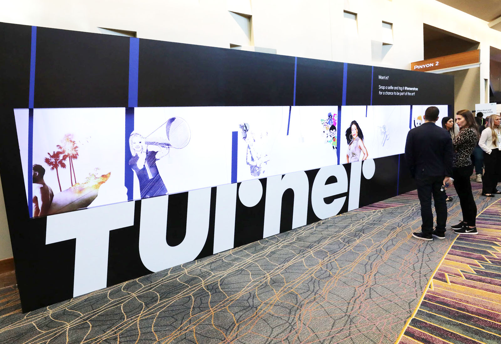Turner activation at CES