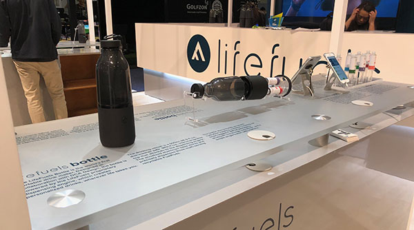 LifeFuels exhibit at CES 2019