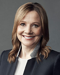 Mary Barra, Chairman and CEO, General Motors