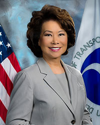 Elaine L. Chao, U.S. Secretary of Transportation