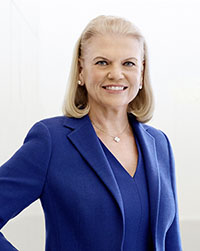 IBM Chairman, President and CEO Ginni Rometty