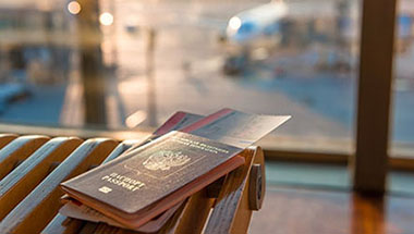 International travel and visas