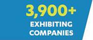 3,900+ Exhibiting Companies