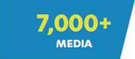 7,000+ Media