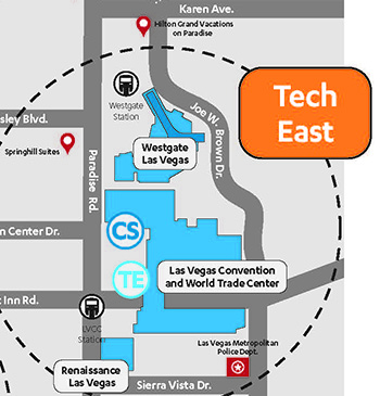 Official Show Locations - CES 2020