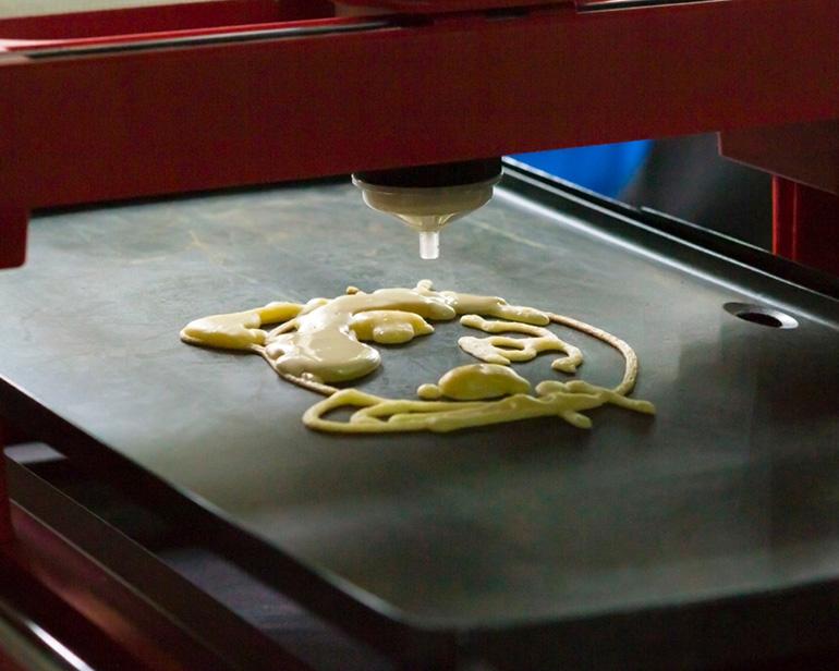 3D-Printed Foods