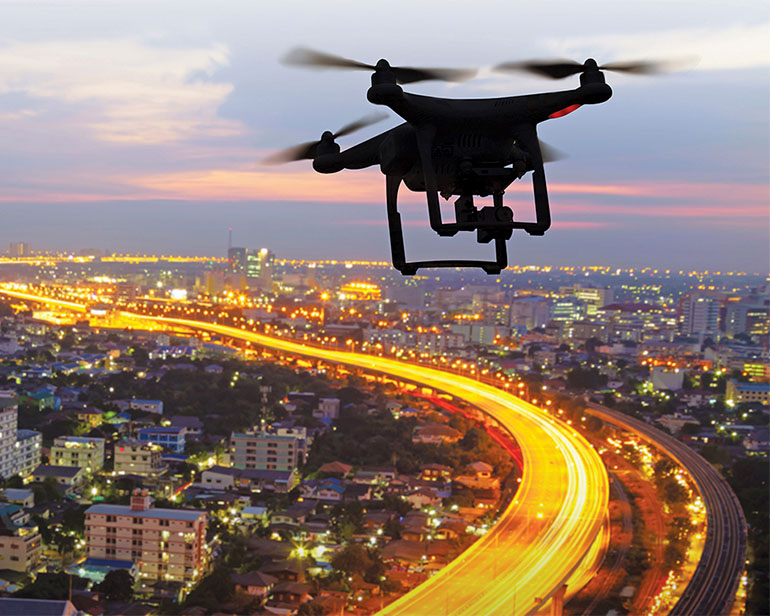 Drones on the Upswing