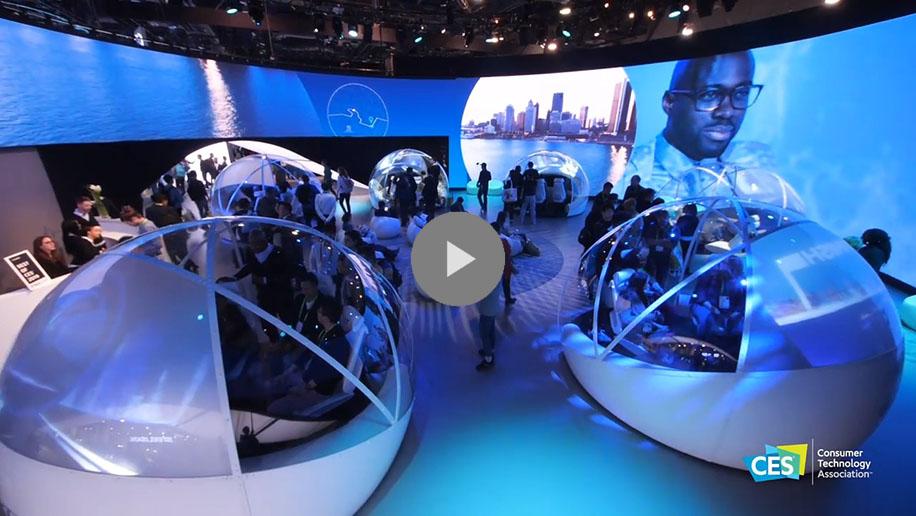 Exhibit at CES - CES 2020